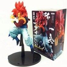 19cm boîte Figuarts Super Saiyan 3 fils Goku PVC figurines Dragon Ball Z Collection modèle DBZ esfera Del Dragon jouet