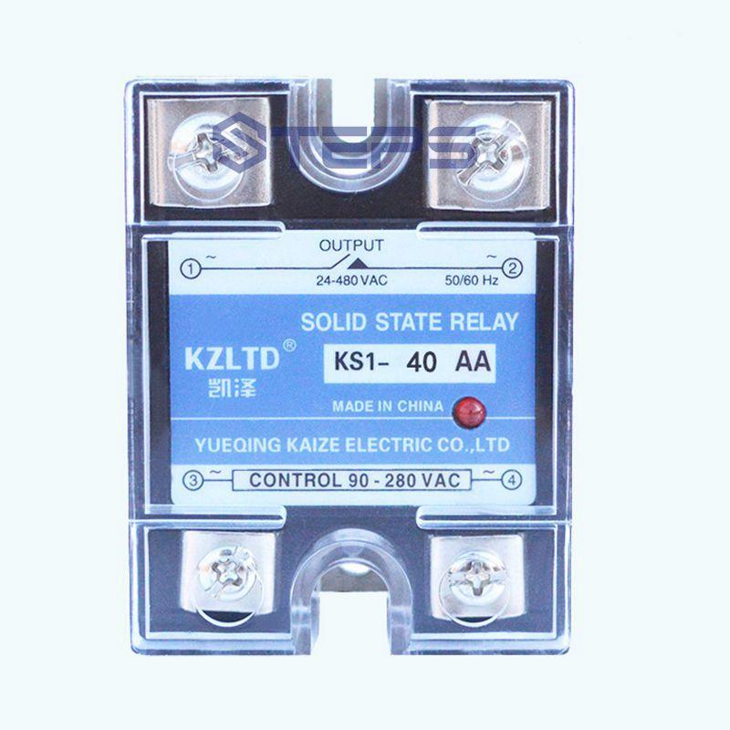 Relé de estado sólido SSR 220 V CA a CA 110V380VAC contactor sin contacto