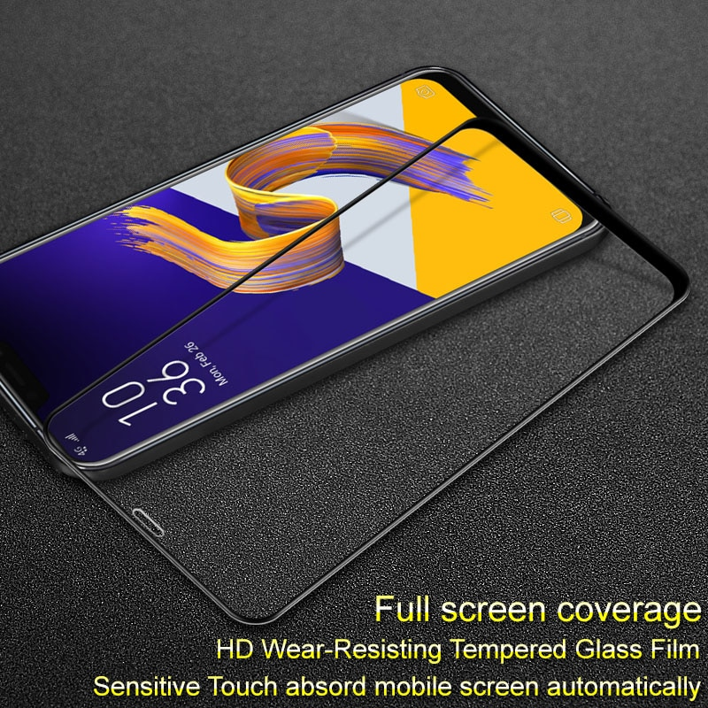 Funda completa para Asus zenfone 5z ZE620KL imak de vidrio templado Pro + Protector de pantalla para Asus zenfone 5z ZE620KL ZS620KL