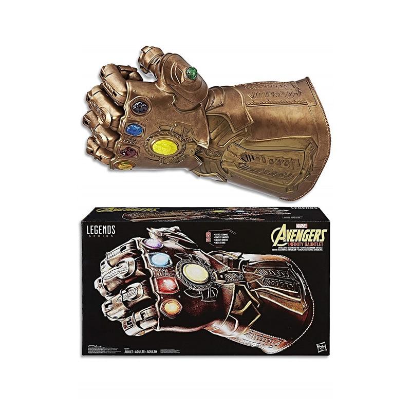 Guantelete del infinito Marvel juguetes serie leyendas de guerra del infinito Thanos guante articulado electrónicos puño guantelete del infinito