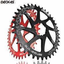 DECKAS GXP vtt plateau rond/ovale anneau de chaîne VTT vélo de route roue de chaîne 32/34/36/38 T SRAM GXP XX1 XO1 X1 GX XO X9