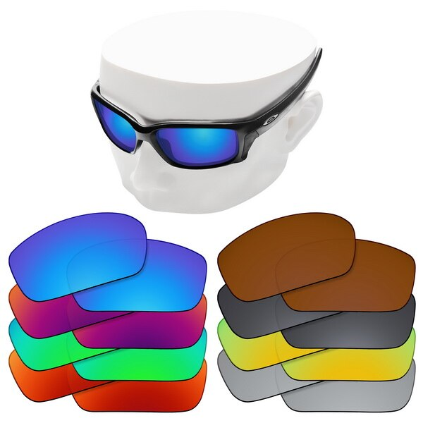 OOWLIT Polarized Replacement Lenses for-Oakley Straightlink Sunglasses