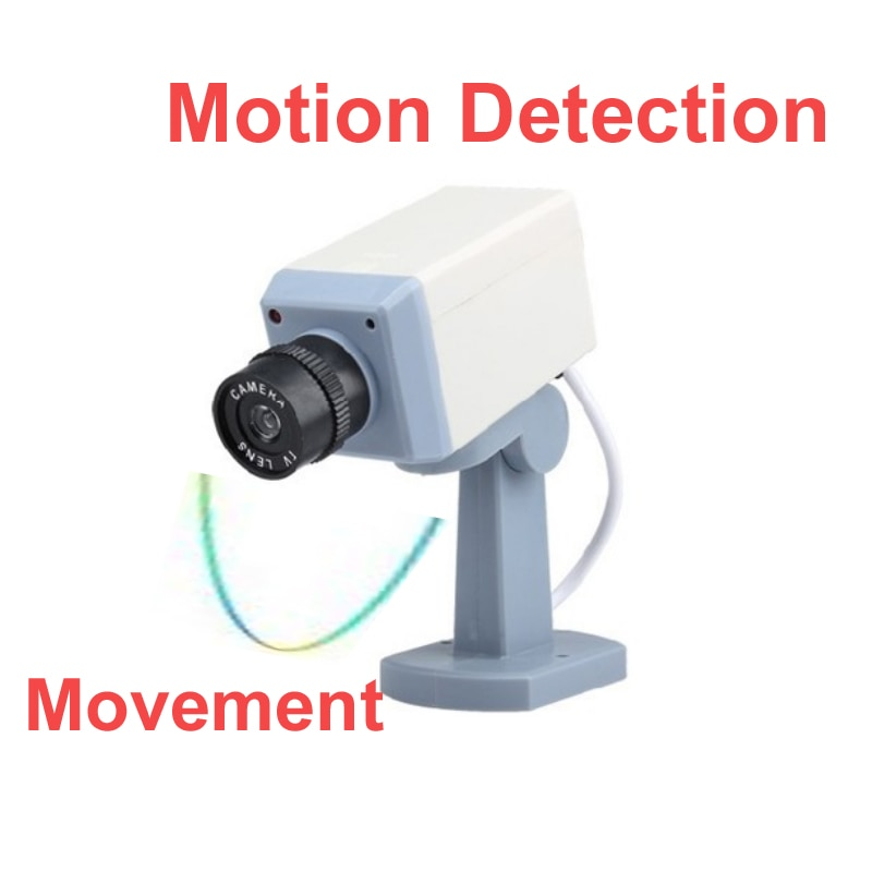 Motion imitação manequim câmera falso manequim câmera de cctv IR motion detector com função movimento assustando câmera Câmara de Simulação