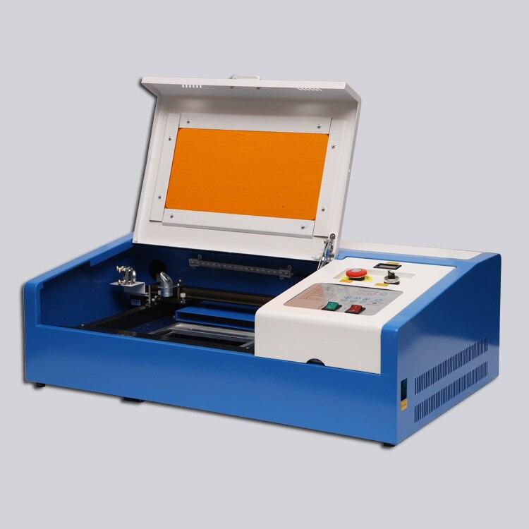 USB CO2 Laser Gravur Schneiden Maschine Laser Graveur Laser cutter 3020 40W für Holz Acryl 110V/220V NEUE Stil