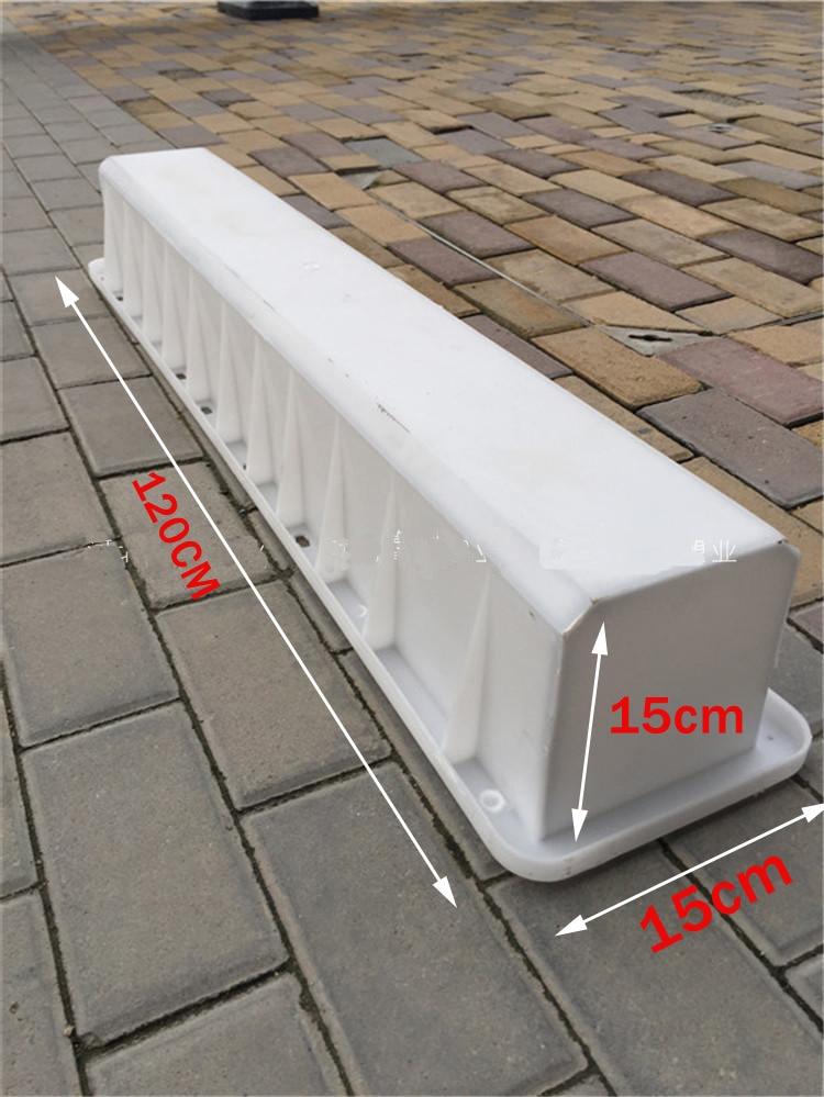 Molde de pila de advertencia señal de intersección pila Indicador de Columna de cemento pila de policía molde de hormigón 15*15*120cm
