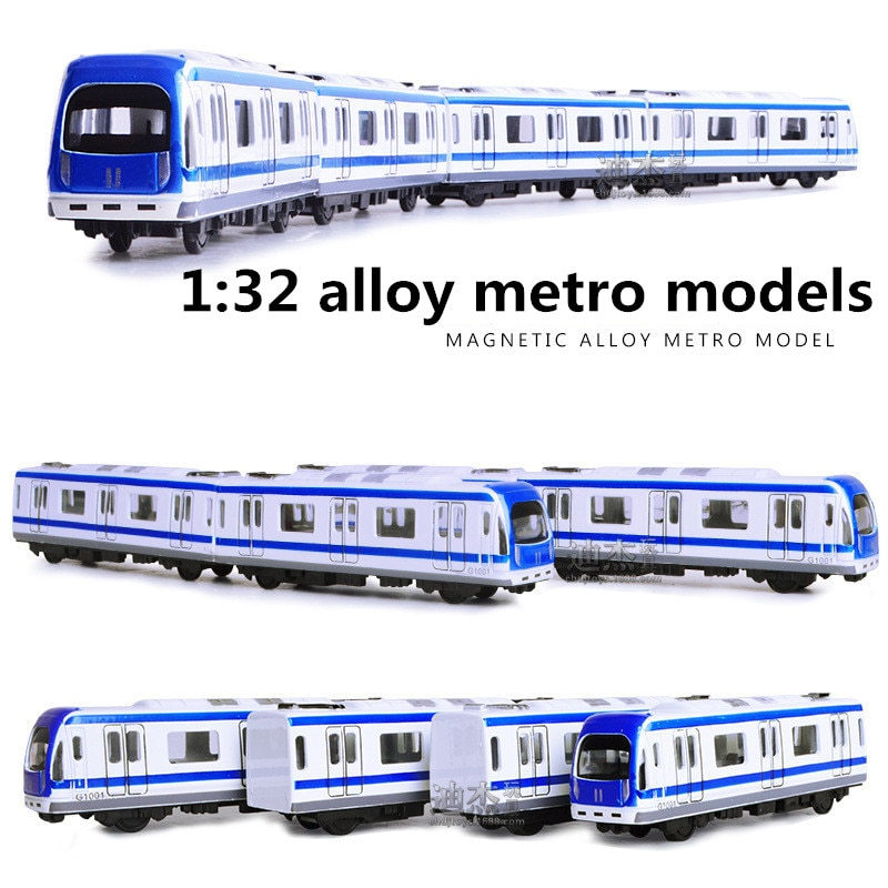 Модели metro из 1:32 сплава, магнитная модель автомобиля с высокой имитацией, металлические diecasts, с обратной стороны, детские игрушечные машины, бесплатная доставка