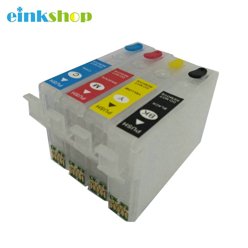 Einkshop T2971 T2962 T2963 T2964 Cartucho de tinta Recarregáveis Com Chip de uma só vez Para Epson XP231 XP241 XP431 XP-231 XP-431 XP-241
