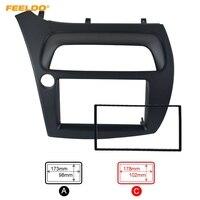 FEELDO Car DVD/CD Radio Stereo Fascia Panel Frame Adapter Fitting Kit For Honda CIVIC Europe 06~11(LHD
