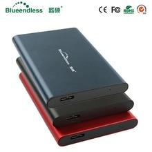 New External hard drive 250G/320G/500G/750G/1TB/2TB Sata to usb 3.0 high speed hdd usb enclosure case hd externo metal hard disk