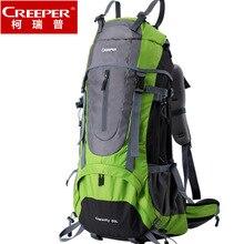 Corip véritable sac de randonnée en plein air en gros sac à dos de voyage sac à dos grande capacité 60 litres