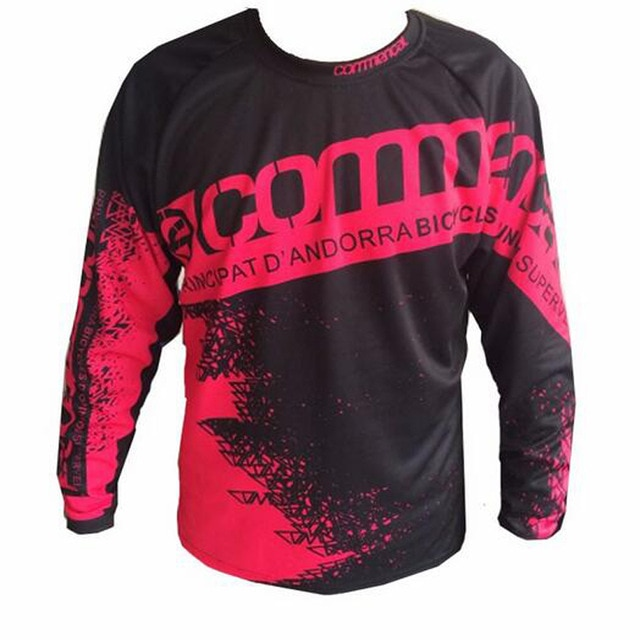 2018 camisa mtb Estrada de Cross country moto Jeseys Camiseta Camisola ATV moto cross Downhill jerseys MTB Da bicicleta Da Sujeira