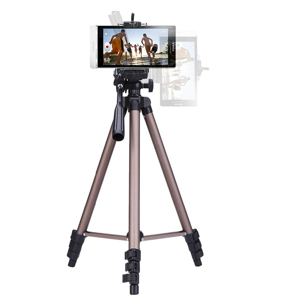 Trípode Profesional para cámara, soporte portátil para videocámara Canon, Nikon, Sony, DSLR, iPhone, Samsung
