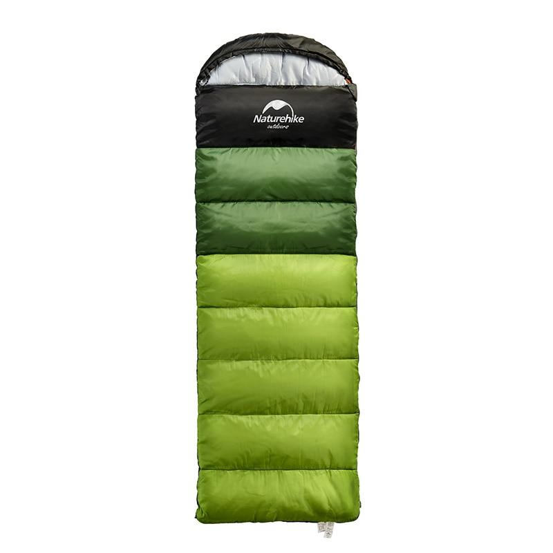 Bolsa de dormir ultraligera Naturehike, para exterior, Camping, viaje, senderismo, saco de dormir para adultos, se puede empalmar equipo turístico