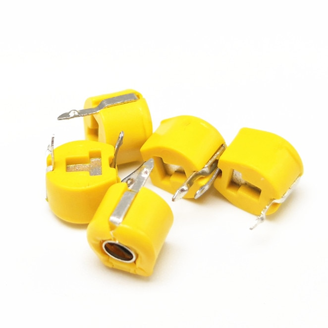 500 pcs JML06-1-40P 6mm JML06-1 DIP trimmer 40pf capacitor Ajustável