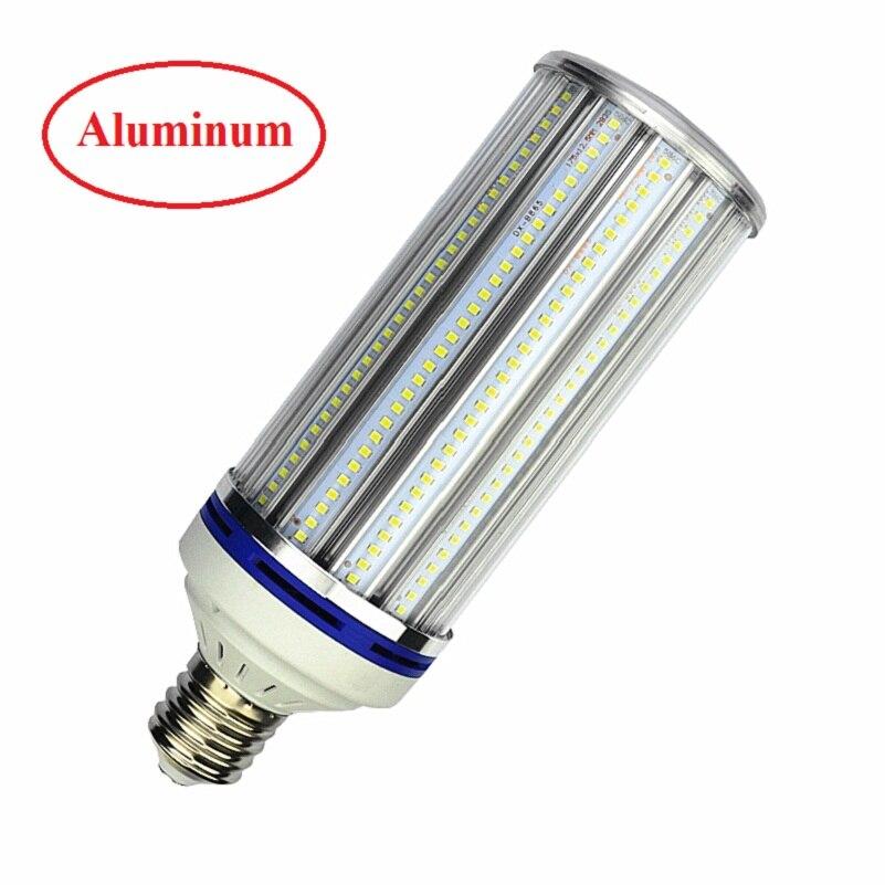 Bombilla LED de alto lumen 70W 100W 120W 180W E26 E27 E39 E40 Luz de alumbrado público 85-265V CA lámpara de maíz para ingeniero de almacén Squar