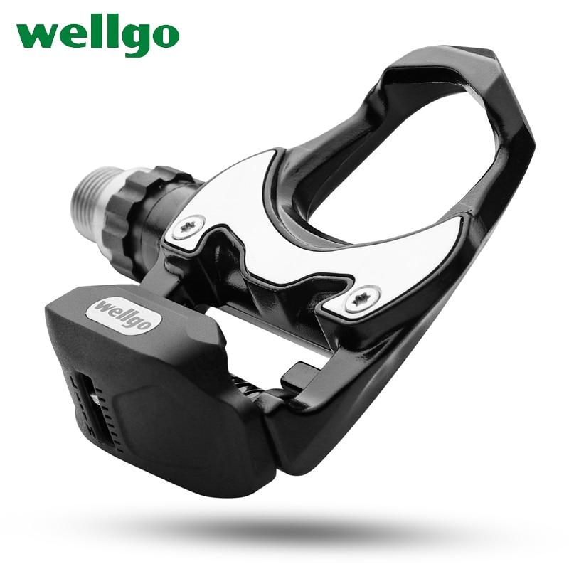 Wellgo R302 Сверхлегкий дорожный велосипед MTB велосипедные педали полностью сплав Cr Mo стальной подшипник самоблокирующийся Плавная педаль велосипеда бутсы