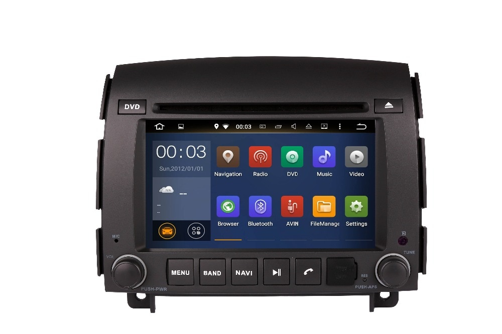 Regalos gratis ROM 16G Quad Core Android para HYUNDAI SONATA NF YU XIANG 2006-reproductor de DVD del coche de navegación Multimedia DVD GPS DVD