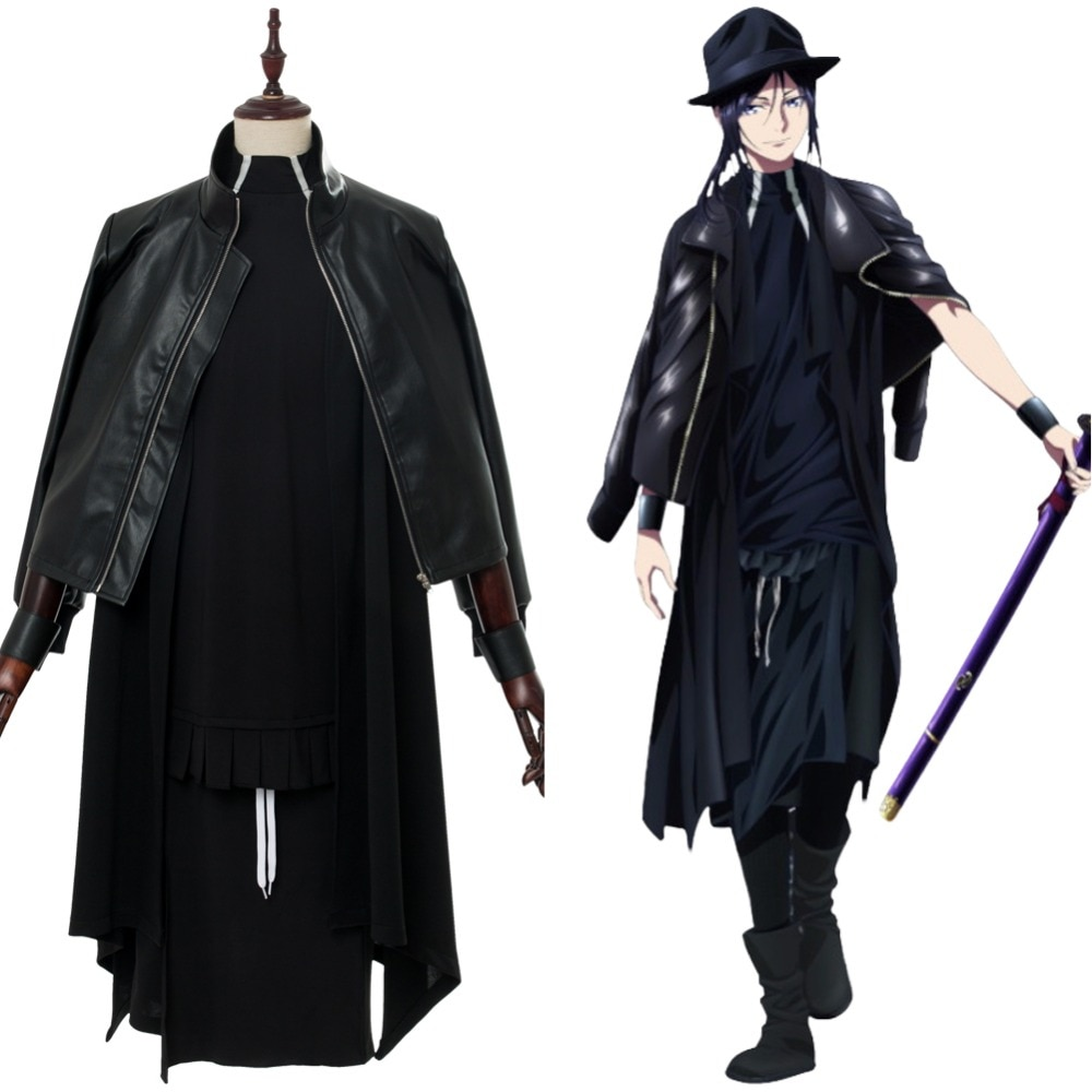 Anime K Seven Stories Yatogami Kuroh Cosplay Costume Jacket