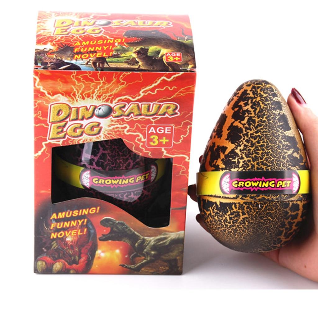 Lindo magia huevo de Pascua negro agua huevos de dinosaurio incubándose creciente Dino juguete juguetes educativos para chico de los niños regalo de cumpleaños