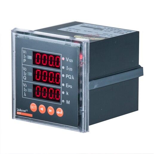 Acrel ACR Série Medidores De Energia de Rede Multi-funcional de Alta Tensão Medidor De Painel de Energia