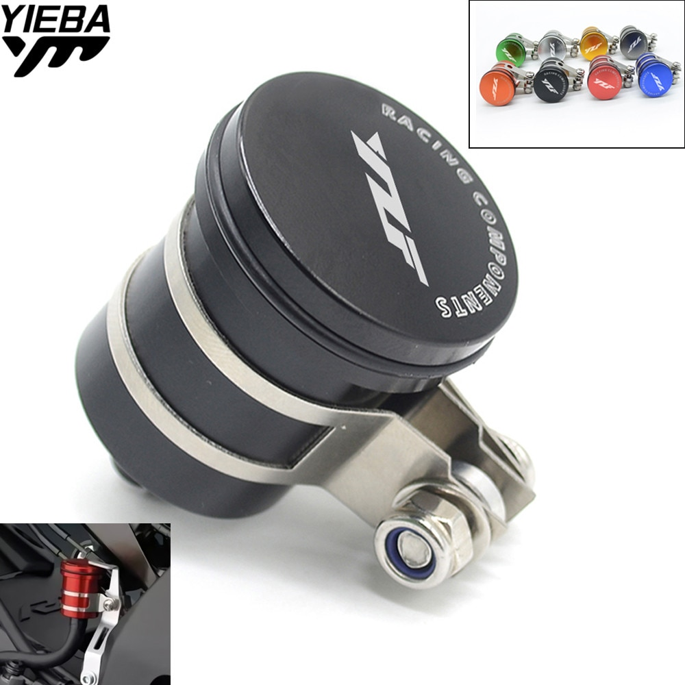 Для YAMAHA YZF R1 R6 YZF 600R YZF R1/R1M MT-03 MT-09 резервуар для мотоцикла Заготовка задний тормоз сцепления бак масляный бак YZF