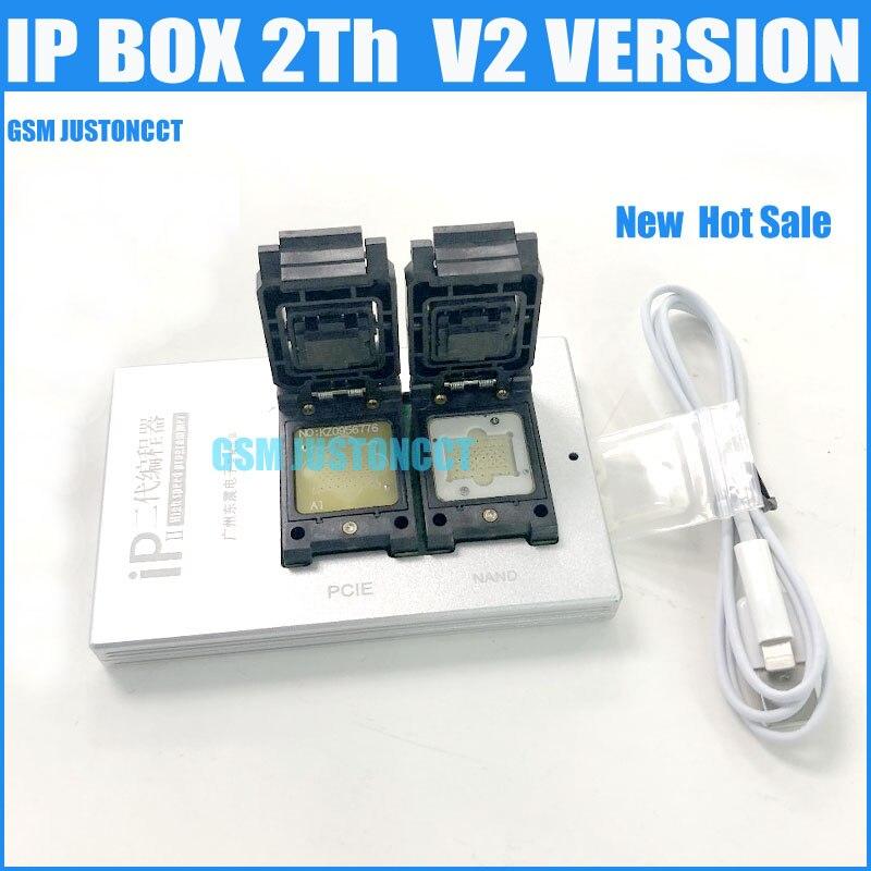 Высокоскоростной программатор IPBox V2 2 в 1, для iPhone 7 Plus/7/6S Plus/6S /6 Plus/5S/5C/5/, NAND PCIE, 2-е поколение, 2020