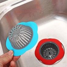 Küche Waschbecken Sieb Blume Geformt Dusche Waschbecken Kanalisation Abdeckung Waschbecken Sieb Kanalisation Bad Haar Trap Catcher Küche Zubehör