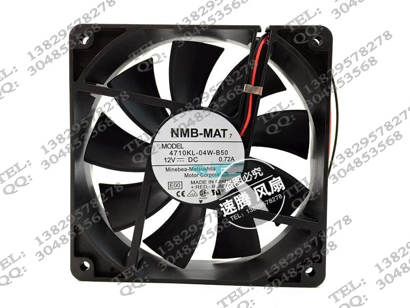 12025 4710 kl - B50 12025-04 w DC 12 v 0.72 A 12 cm Case fans