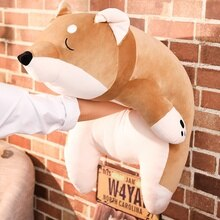 40-100cm 1pc Cute Animal Shiba Inu Plush Stuffed Doll Baby Toy Lovely Fat Shiba Inu Dog Toy Children Birthday Gift Home Decor