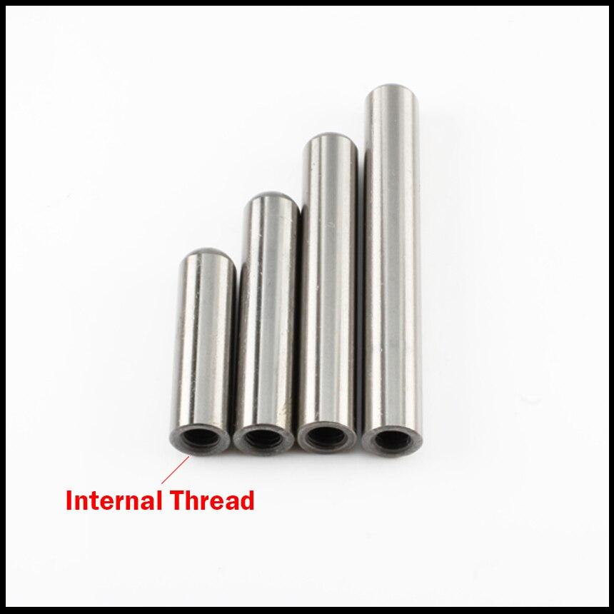 16*100mm 16x100mm m6 dentro da linha suj2 hrc60 alta precisão rosqueando o pino paralelo redondo do passador do lugar do cilindro
