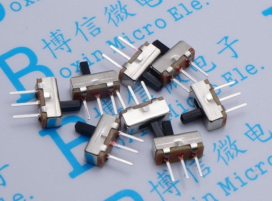10 unids/lote Ss12D00 tipo engranaje interruptor de palanca de trípode manija Horizontal 5Mm interruptor de palanca de trípode
