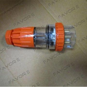 قابس صناعي IP66 مقاوم للماء ، 3 دبابيس ، دائري ، ثلاثي الأطوار ، 56P320R ، 20A