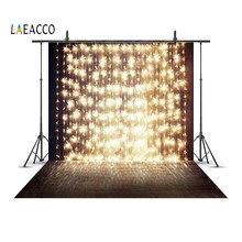 Laeacco Birne Girlande Licht Linie Wand Nacht Szene Porträt Fotografie Hintergründe Individuelle Fotografische Hintergründe Für Foto Studio