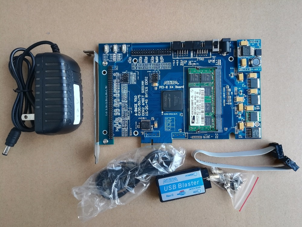 PCIe development board PCIe X4  fpga board  EP4CGX75CF23I7  fpga pcie x1 fpga development board pcie kit altera pcie X1