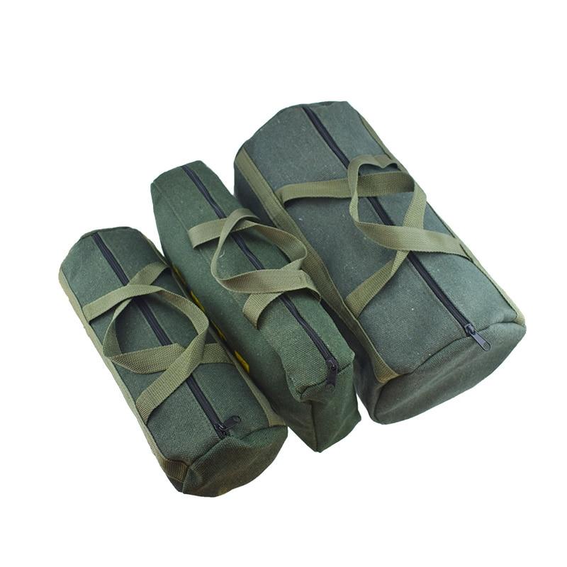 1 Uds. Bolsa de lona más gruesa duradera para herramientas eléctricas, organizador de almacenamiento, caja de instrumentos portátil, bolsa de mano
