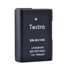EN-EL14 EN-EL14A 1500mAh batterie pour Nikon P7800 P7700 P7100 P7000 D5500 D5300 D5200 D3200 D3300 D5100 D3100 enel14a enel14