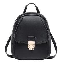 New Designer Fashion WomenTravel  Backpack  Multi-Function Small Backpack Female Ladies Shoulder Bag  Mobile Phone Purse  5.20