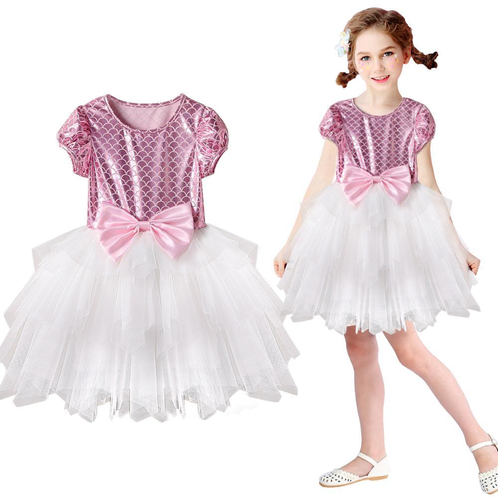 Girls Dress  Kids Dresses For Girls Party Dress Bridesmaid Dress Backless Ball Gown Kid Summer Clothes