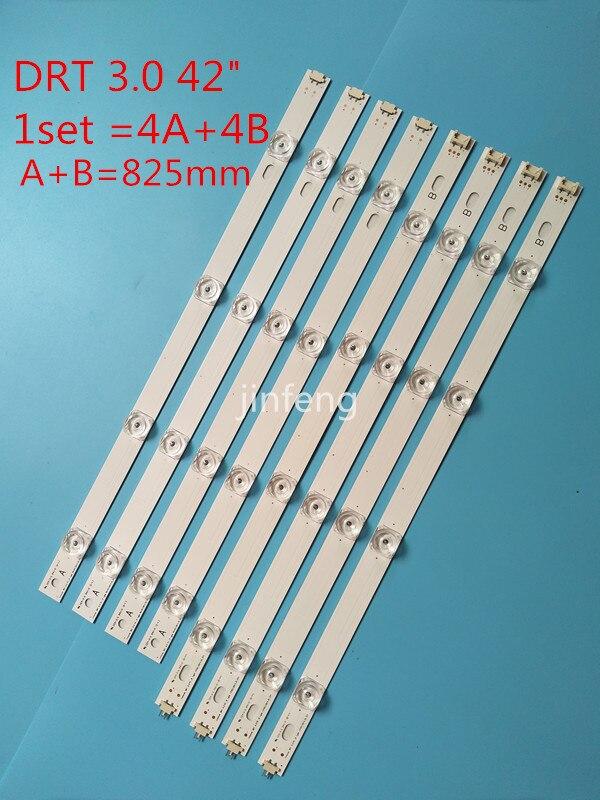 100% جديد LED الخلفية قطاع ل LG 42LB5500 42LB570V 42LB580V LC420DUE FG DRT 3.0 42 A/B 6916L- 1709B 6916L-1710B 1956A 1957A