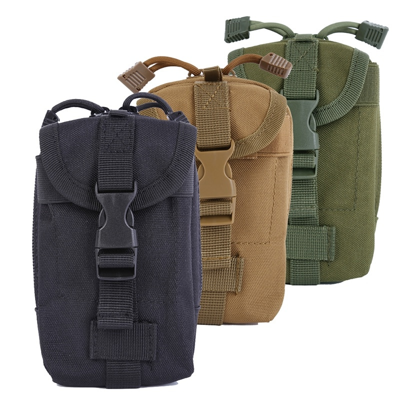 Outdoor 600D Nylon Camping Hunting Sports EDC Tactical Bags Portable Packs Condor Molle Gadget Pouch Bags Hunting Bag