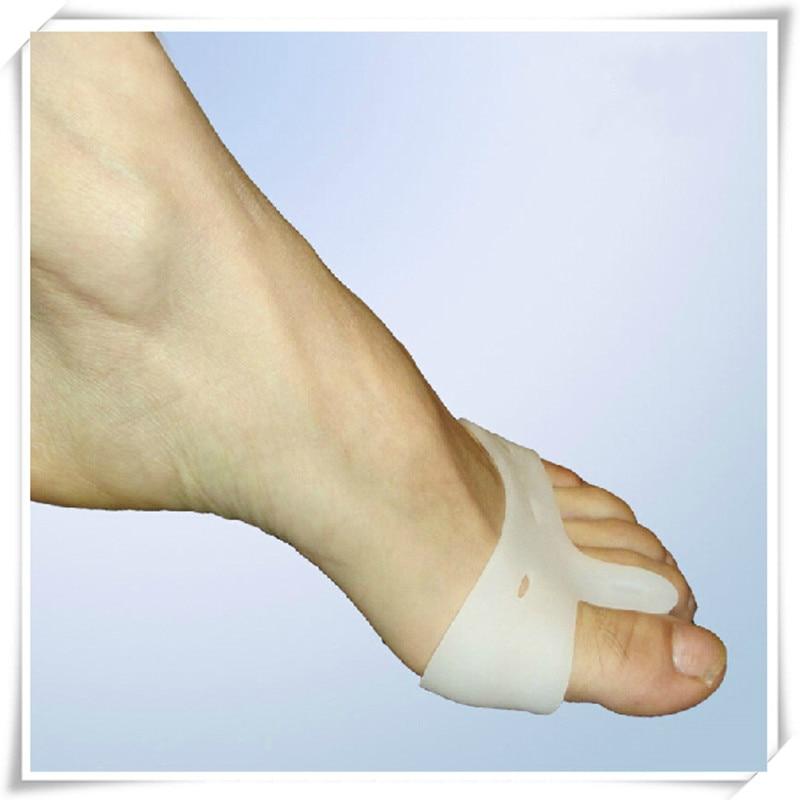 2 unidades/par especial Hallux Valgus Bicyclic pulgar aparatos ortopédicos para corregir diariamente silicona hueso grande del dedo del pie juanete del pie masajeador #991