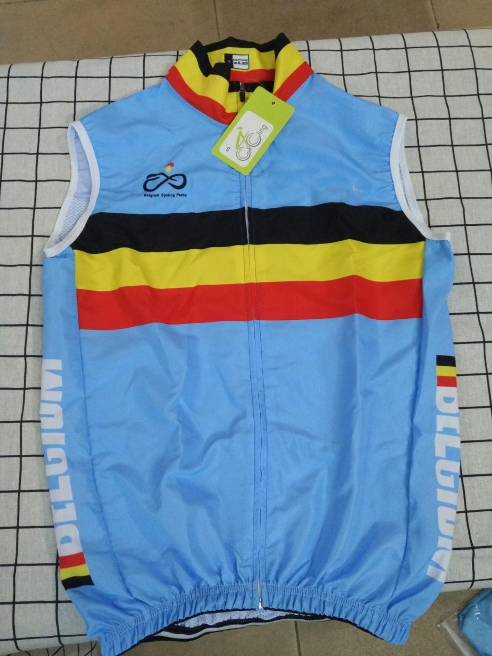2016 Bélgica equipo nacional de verano chaleco sin mangas para Ciclismo ropa de Ciclismo de montaña bicicleta Maillot bicicleta Ciclismo ropa