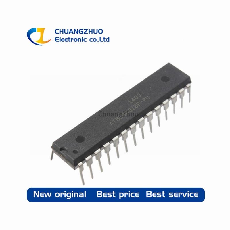 10 قطع ATMEGA328P-PU DIP28 ATMEGA328-PU DIP ATMEGA328P جديدة ومبتكرة IC