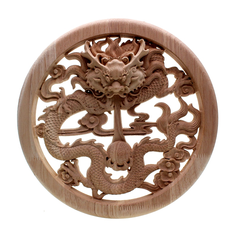 VZLX Wood Log Slices Discs Disks For DIY Crafts Vintage Home Decor Garden Wedding Party Decoration Accessories Supplies Figurine