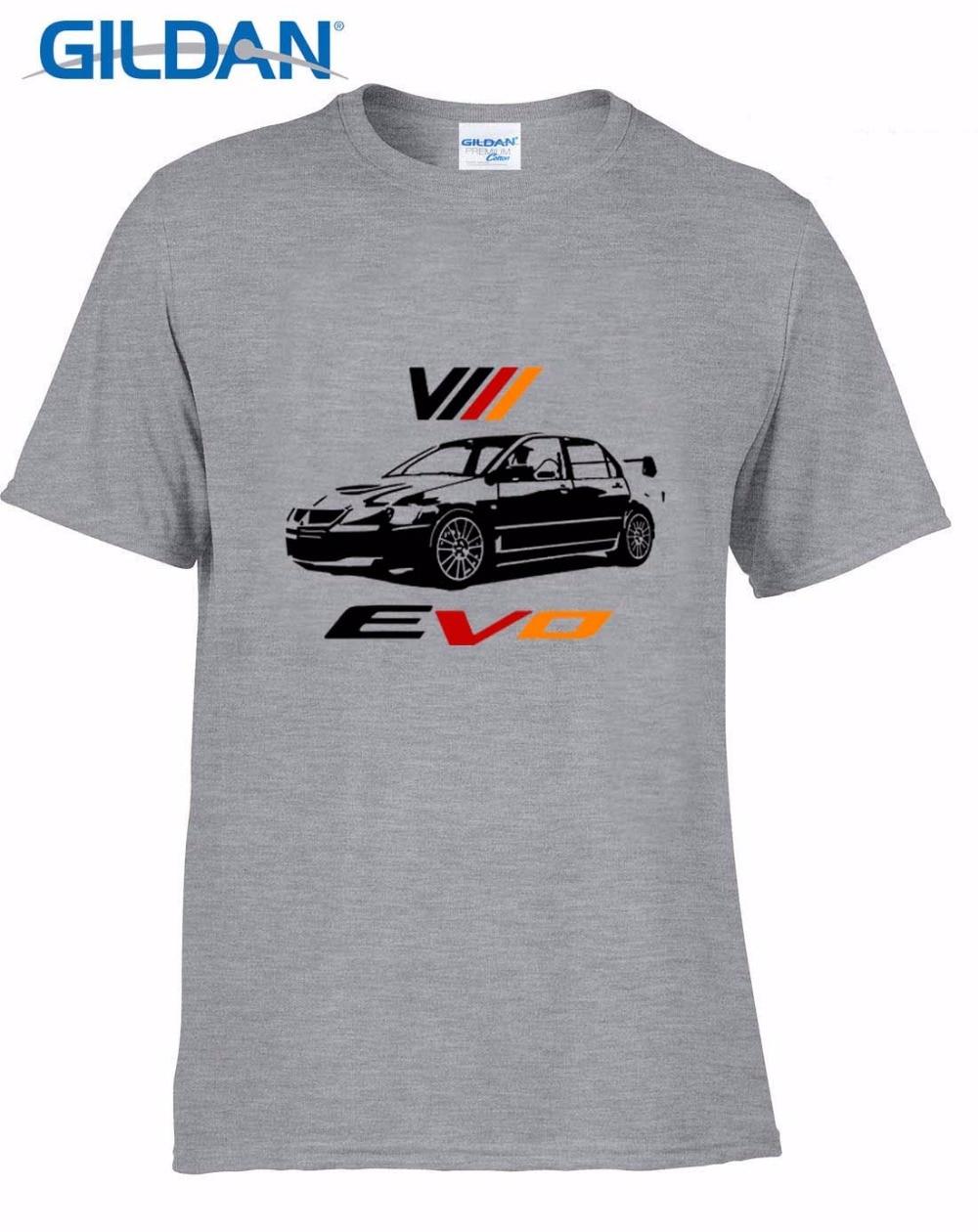 Men T Shirt 2019 Fashion Tee Men Japanese Classic Car Lancer Viii Jdm T-Shirt Evo 8 Rally Tee Shirts Hoodies