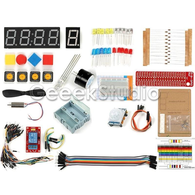 GPIO DIY Starter Kit for Raspberry Pi 3 Model B