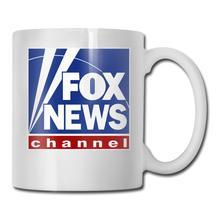 Fox News Logo tasses à café Cool 11oz   Cadeau de nouveauté en céramique Unique pour tout, tasse de motivation familiale