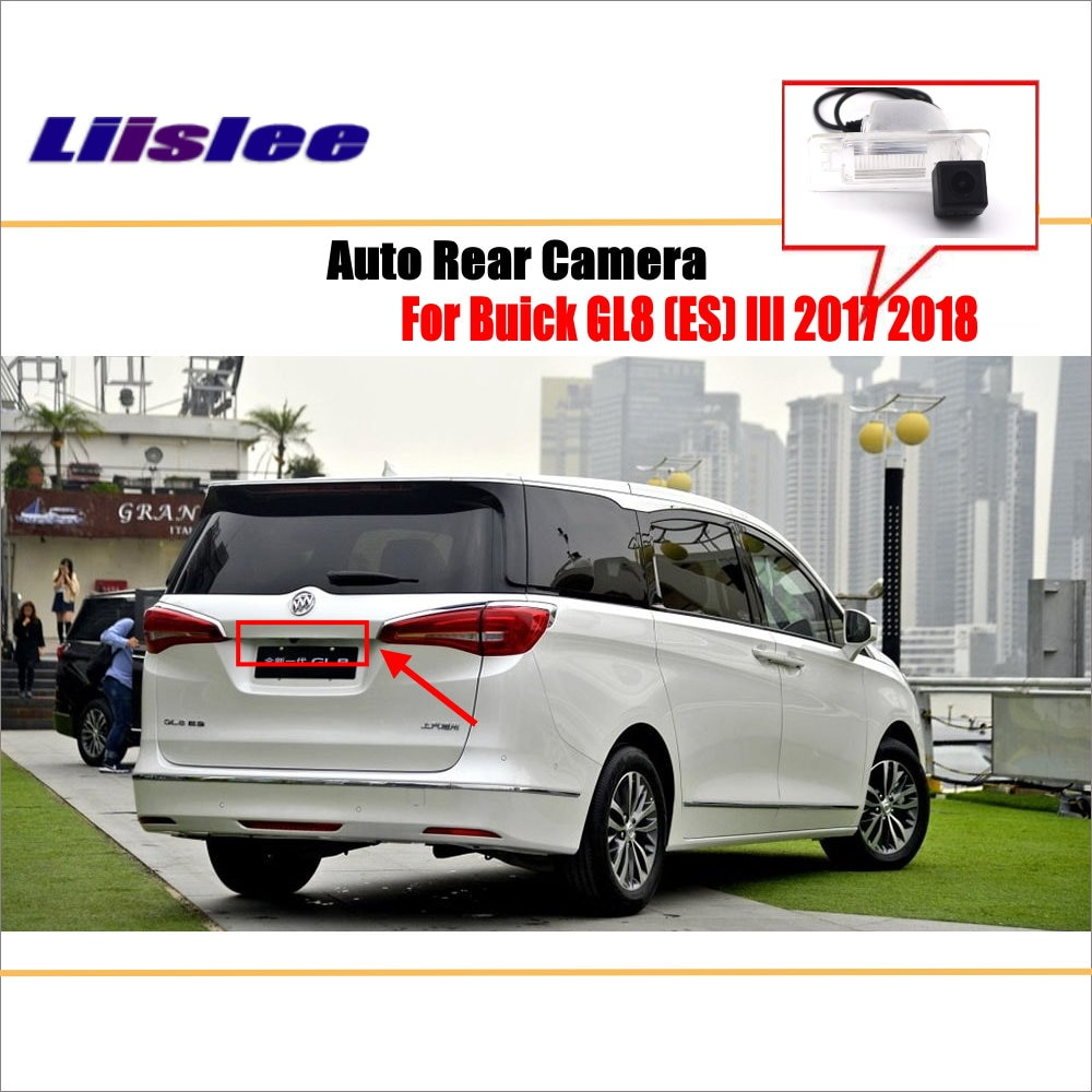liislee rear view camera for peugeot 408 2014 2018 reverse hole parking back up camera night vision Liislee Parking Back Up Camera / Reverse Rear Camera For Buick GL8 ( ES ) III 2017 2018 / License Plate Lamp OEM / Night Vision