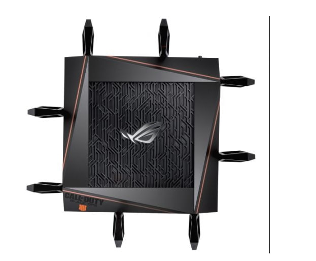 ROG GT-AX11000 Tri-band WiFi Gaming Router World's first 10 Gigabit Wi-Fi router with quad-core processor, 2.5G gaming port enlarge