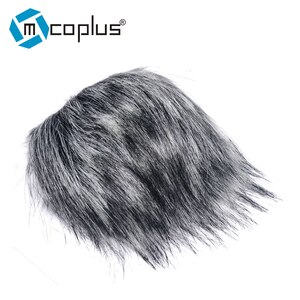 Professional Outdoor Dusty MIC Furry Cover Windscreen Windshield Muff For ZOOM H5 ZOOM H6 ZOOM H5/H6 Deadcat Wind Shield